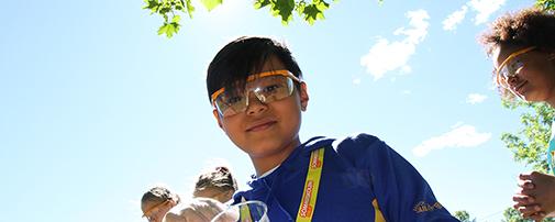 Gutt på Sommerskolen