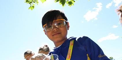 Gutt på Sommerskolen Oslo på Fagerborg skole