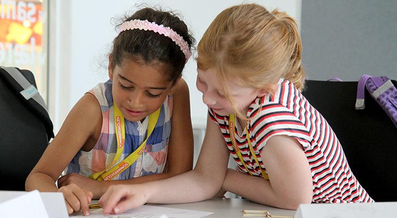 Jenter på Sommerskolen Oslo